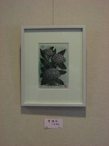 小菅光夫さん(版画)